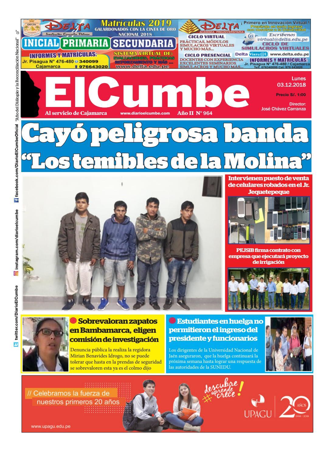 Hombres Solteros Cajamarca New - 64667